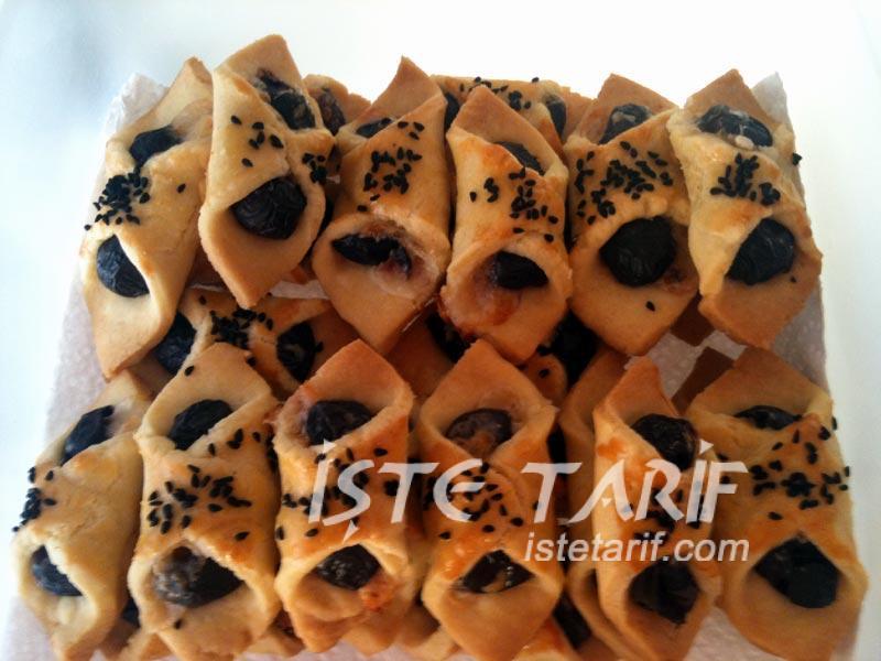 Zeytinli mini kurabiye 3
